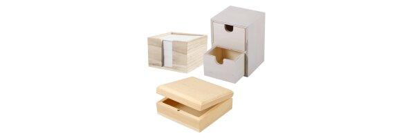 Boxen + Dosen + Aufbewahrung