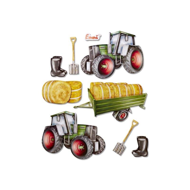 3d Sticker Xxl Traktor 6 50
