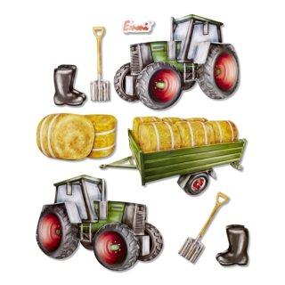 """3D Sticker XXL """"Traktor"""""""
