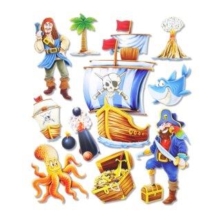 """3D Sticker XXL """"Piraten"""""""