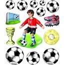 "3D Sticker XXL ""Fußball"""