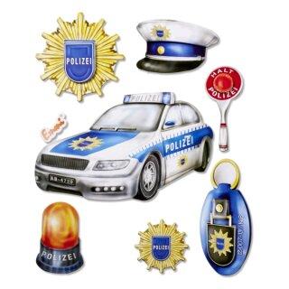 """3D Sticker XXL """"Polizei"""", leider erst im Mai lieferbar"""