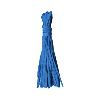 Bast, 50 g, blau