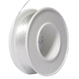 Perlonfaden, D: 0,35 mm, 100 m