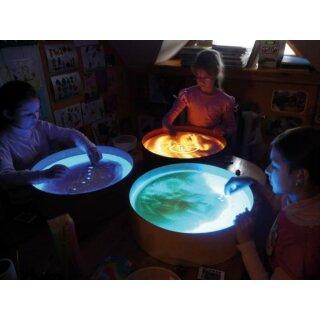 Leuchtkübel Sandmalen D: 47 cm, 15 cm hoch von Eduplay