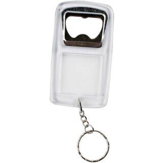 Schlüsselanhänger mit Flaschenöffner 5er Set 8 x 4,5 x 0,5 cm