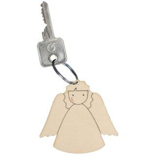 Schlüsselanhänger Schutzengel, 12er Set, ca. 5,4 x 5,1 cm, voraussichtlich April lieferbar