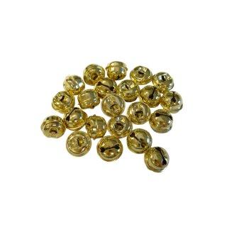 Schellen gold, D: 15 mm, 100 Stück