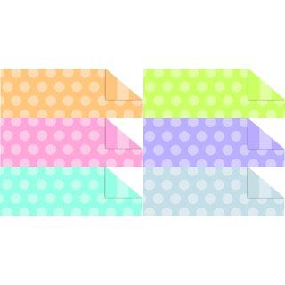 Fotokarton Polka Dots & Stripes, 49,5 x 68 cm, 10 Bögen