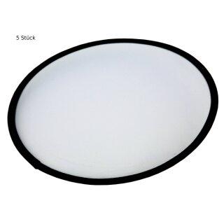 Frisbee, 5 Stück, D: 25 cm