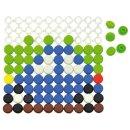 Knopfplatten, 1010-er Set, von Eduplay