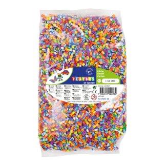 Nabbi® Bügelperlen gestreift, 10000 Stück 5 mm