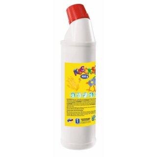 KLECKSi Fingermalfarbe Big Bottle weiß, 900g von Feuchtmann