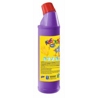KLECKSi Fingermalfarbe Big Bottle lila, 900g von Feuchtmann