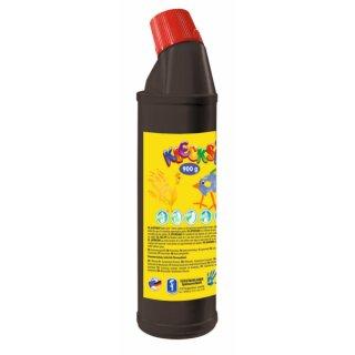 KLECKSi Fingermalfarbe Big Bottle schwarz, 900g von Feuchtmann