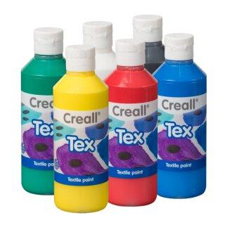 Stoffmalfarbe 6er Set, 1500 ml