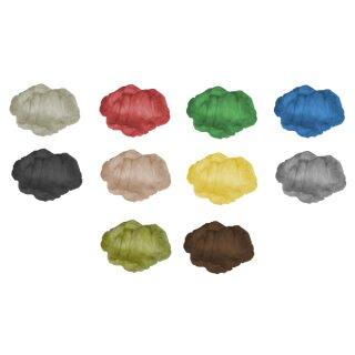 Märchenwolle / Filzwolle 500 g in 10 Farben sortiert