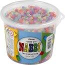 Nabbi® Bügelperlen Glitter im Eimer mit ca. 5000...