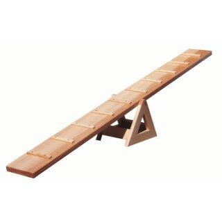 Laufwippe aus Holz, 170 x 17 x 26 cm