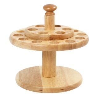 Scherenhalter aus Holz, H: 13 cm, D: 19 cm, 1 Stück, voraussichtlich Ende Juli lieferbar