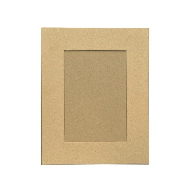 Bilderrahmen mit Ständer, 190 x 150 mm aus Pappmaché, 1,9
