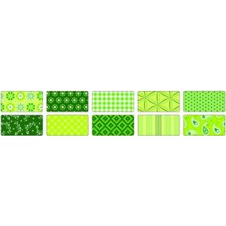Motivkarton BASICS grün 50 x 70 cm, 10 Bogen