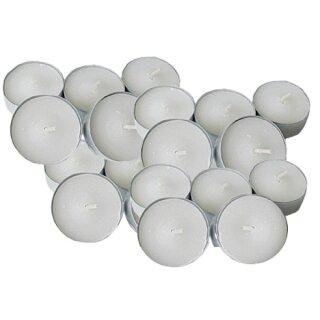 Teelichter D: 40 mm in Metallhülse, 100 Stück