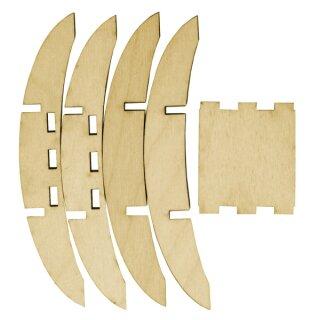 Ständer für Mini Holzsäule, 1 Stück
