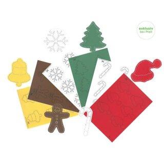 Winter weihnachten - Bastelset weihnachten ...