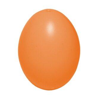 Plastik-Eier, Kunststoffei, Osterei, apricot 60 mm, 1 Stück