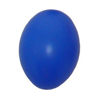 Plastik-Eier, Kunststoffei, Osterei, blau 60 mm, 1 Stück