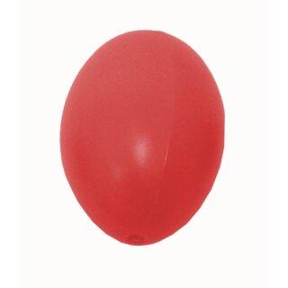 Plastik-Eier, Kunststoffei, Osterei, rot 60 mm, 1 Stück
