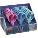 Display mit 24 Softgrip Kinderscheren Westcott®  mit...