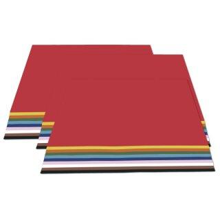 Sonderaktion Papiersortiment 3 in 1 Tonzeichenpapier, Tonkarton und Fotokarton