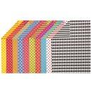 Motivkarton Colortime, 20 Bogen versch. sortiert, A4, 210...