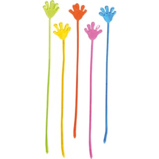 Klatsche aus Gummi von Eduplay, versch. farbig sortiert, 12 Stück