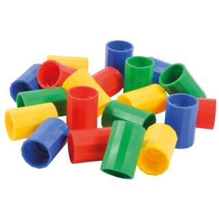 Flaschentornado aus Kunststoff, 1 Stück, verschieden farbig sortiert