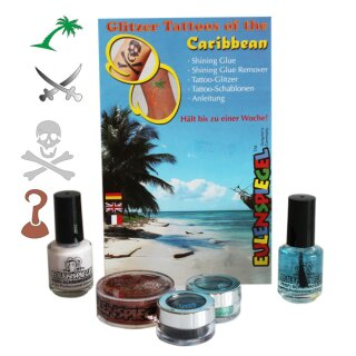Glitter Tattoos of the Caribbean von Eulenspiegel