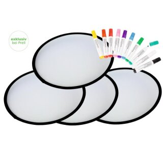 Bastelset Frisbee, 10 Stück