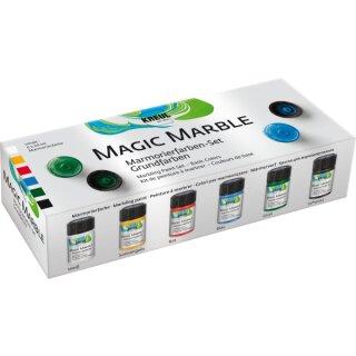 "Marmorierfarbe Magic Marble 6er Set ""Grundfarben"""