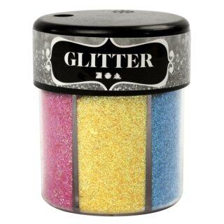 Glitter Sortiment 6 x 13 g sortiert