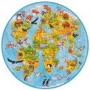 XXL Puzzle Welt 49 Teile Ø 45 cm. Lieferbar vor....