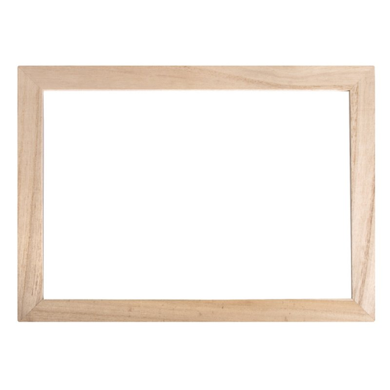 Holz Rahmen mit Acrylglas ca. 25,5 x 35 cm, 9,45 €
