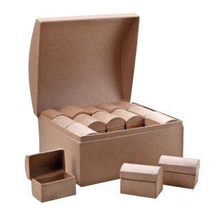 Karton Schatztruhe 30 in 1 Set