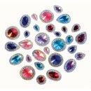 Kristallsteine, 100 Stück sortiert