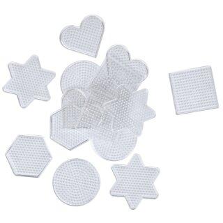 Stiftplatten Set, 15 Stück für Bügelperlen Ø 5 mm. KW 20 lieferbar