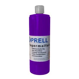 Fingermalfarbe lila, 750 ml von Prell