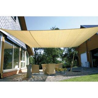 Sonnensegel beige, ca. 5 x 5 m, 1 Stück von Eduplay