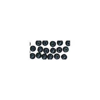 Holz Perlen FSC 100%, poliert, 10mm ø