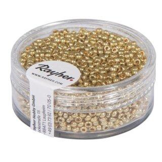 Rocailles, 2,0 mm ø, perlmutt